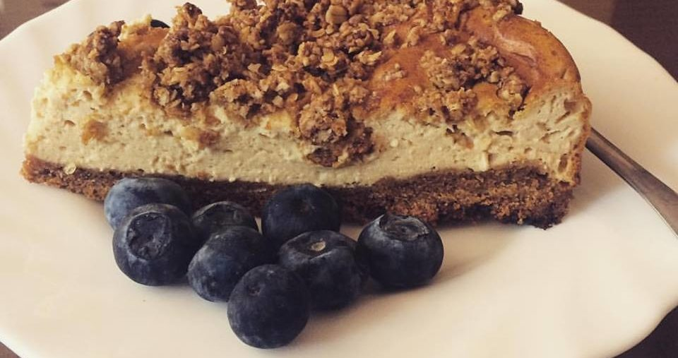 New recipe: Blueberry Oat Cheesecake Delight
