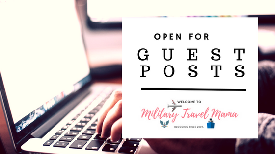 MTM Is Now Officially Open For A Guest Post | Military Travel Mama