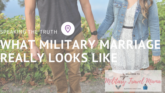 What military marriage really looks like
