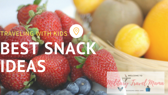 Finding the best snack ideas for traveling with your family
